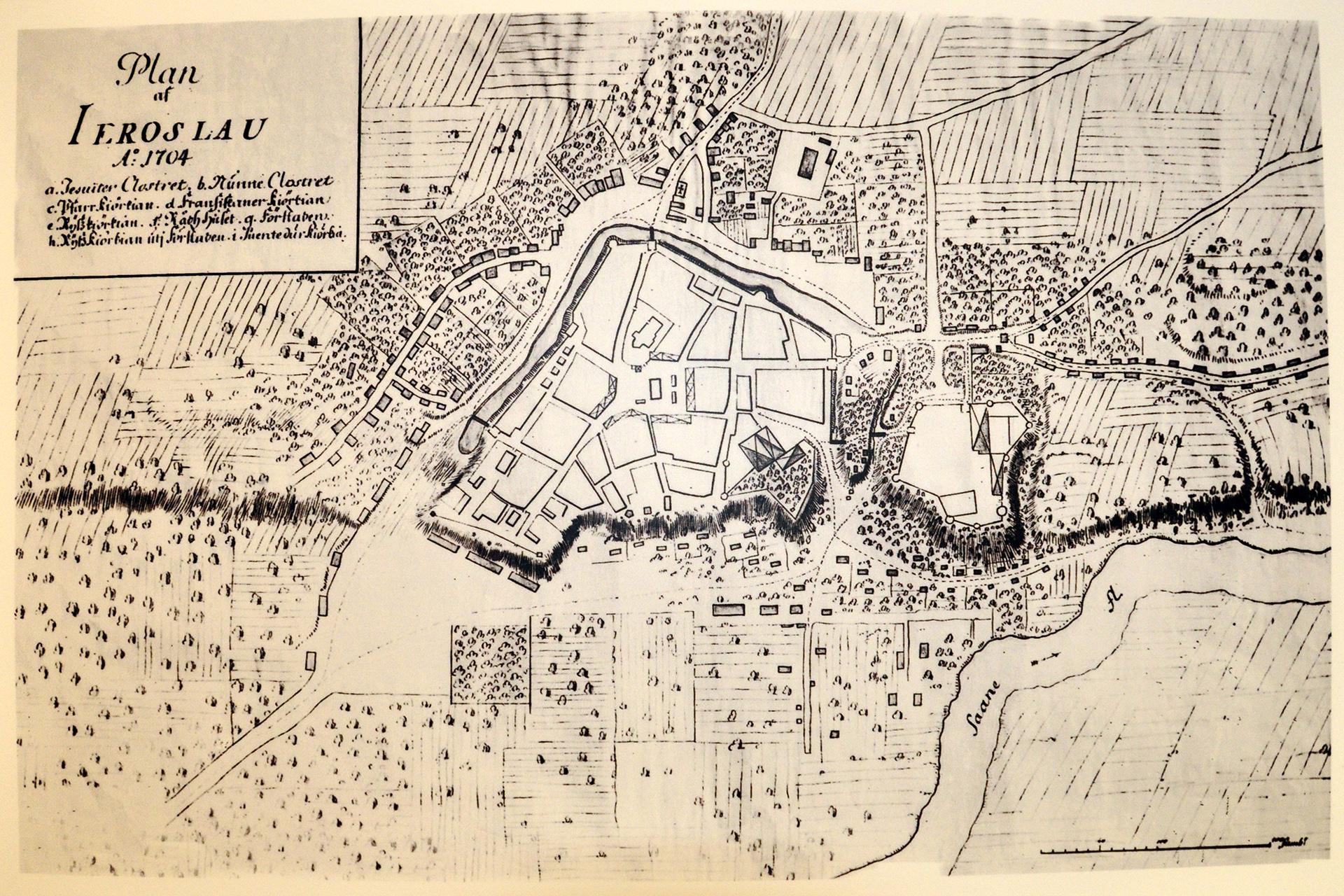 Stara mapa Jarosławia