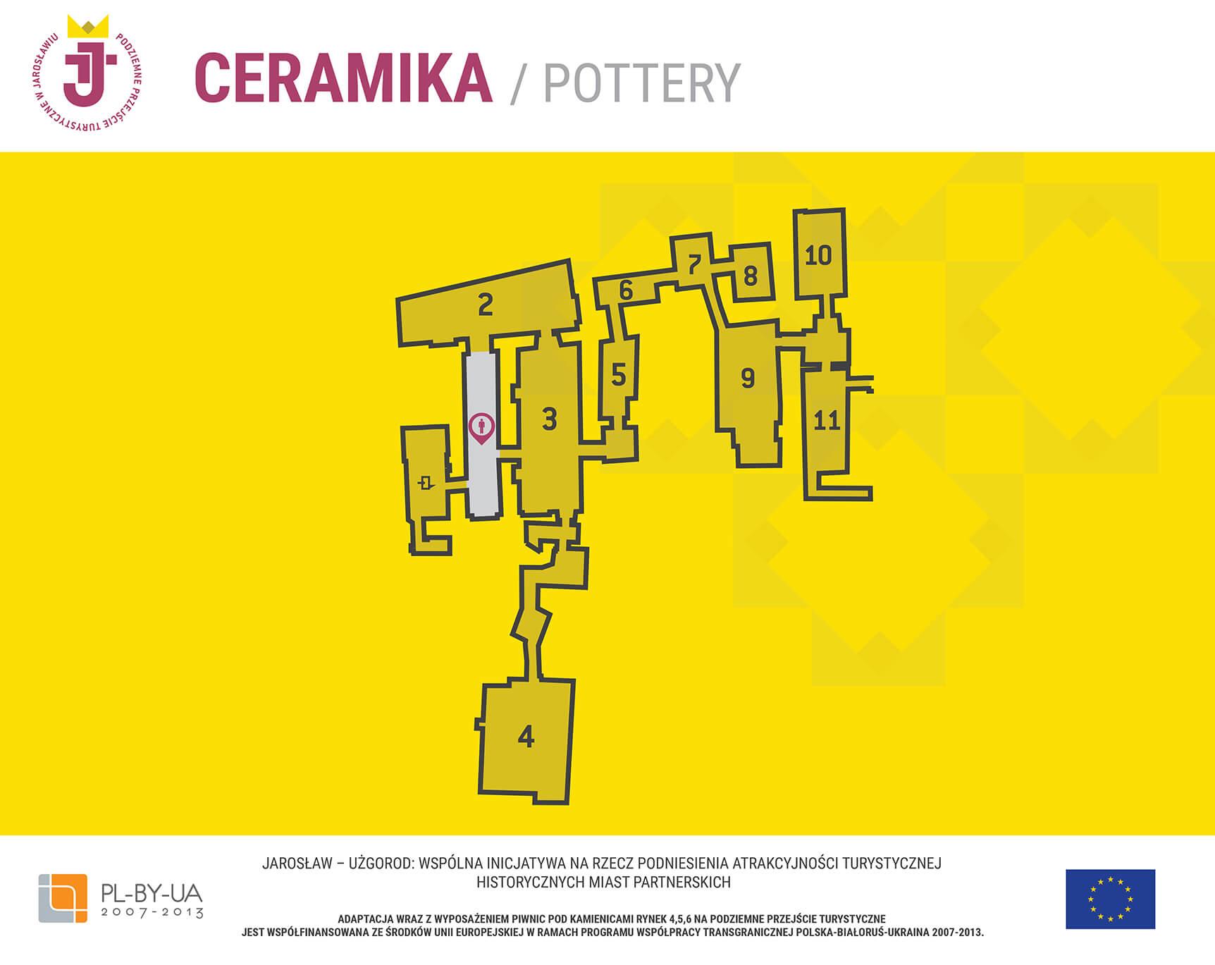 Ceramika - Hol - mapa