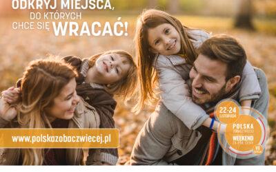 22-24 listopada – Weekend Za Pół Ceny!