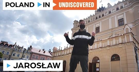 Poland In Undiscovered w Podziemnym Przejściu Turystycznym w Jarosławiu