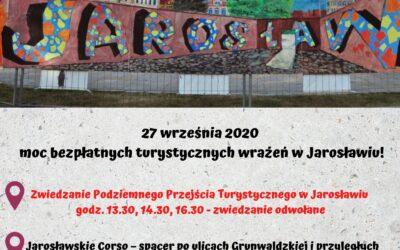Podziemne Przejście Turystyczne w Jarosławiu nieczynne